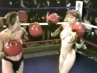Bad Apple - 2 topless boxing matches ft Deja