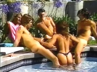Ashlyn Gere Takes On 4 Cocks In Thong Bikini