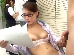 Incredible Japanese girl Yayoi Yanagida in Best Office, Doggy Style JAV scene