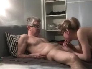 Autumn Bliss Blonde Blowjob And Facial