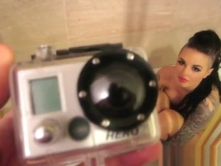 Makeup Room Bath Bts With Christy Mack
