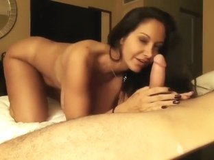 Busty Pornstar Ava Addams has him Cum on her Tits in Homemade Sex-Tape