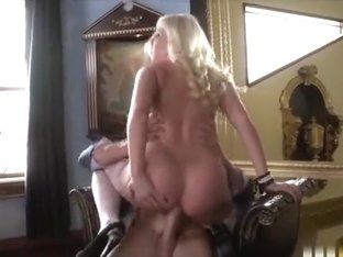 Britney Amber has a fetish for white lace stockings